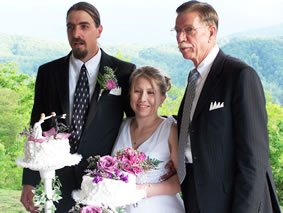 Rob Bremer Minister : Simple Affordable Smoky Mountain Wedding Ceremony